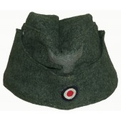 M38 Wehrmacht side cap without soutache
