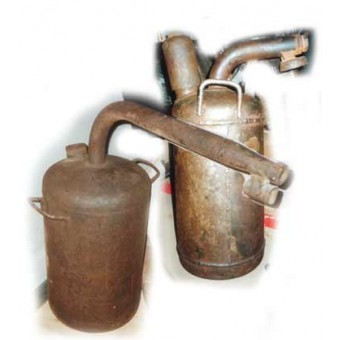 "Soviet ""Fougasse"" flame throwers FOG-2. Completed set!. Espenlaub militaria"