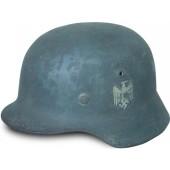 German M35 Wehrmacht single decal steel helmet