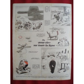 German ww2 Der ADLER French language! August, 1942.. Espenlaub militaria