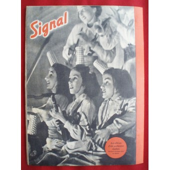 "German ww2 ""SIGNAL"" French language! March, 1943. Espenlaub militaria"