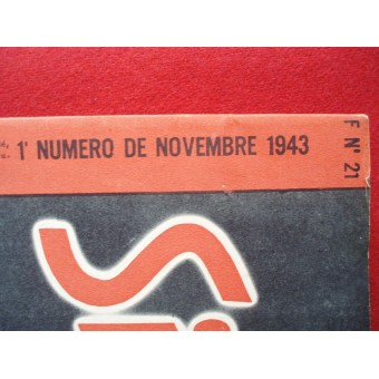 German ww2 SIGNAL French language. November, 1943. Espenlaub militaria
