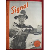 German ww2 SIGNAL with old DAK wanke French language! March, 1942
