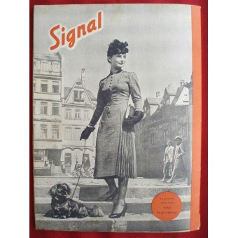 German ww2 SIGNAL with old DAK wanke French language! March, 1942. Espenlaub militaria
