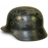 M40 Luftwaffe, re-issued by Luftschutz steel helmet
