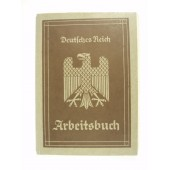 3rd Reich personal ID book for employer