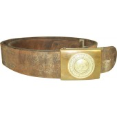 Imperial Prussian belt and buckle-brass