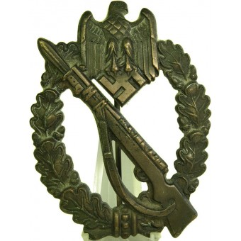 Infanterie Sturmabzeichen in Bronze, Infantry Assault Badge ISA in bronze.. Espenlaub militaria