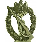 Infanterie Sturmabzeichen in Silber Infantry Assault Badge ISA - in silver.