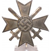 1st Class Military Merit Cross w/ swords in Silver. Deumer, marked 3.