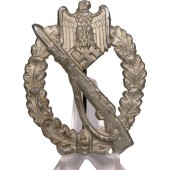 Deumer hollow zinc Infantry assault badge
