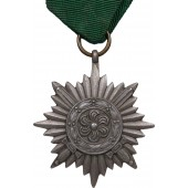 "Medal for Eastern peoples ""For Bravery"" with swords, 2nd class"