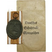 "Medal ""West Wall"" in the award package. Deutsche Schutzwall"