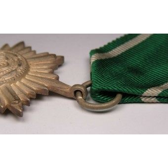 The award for Eastern peoples For Bravery second class in silveк w/ribbon bar. Espenlaub militaria