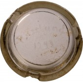 Ashtray Russland 1943, made in memory of the service on the Eastern Front