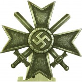 "KVK 1st Class War Merit Cross with Swords marked ""3"", Wilhelm Deumer."