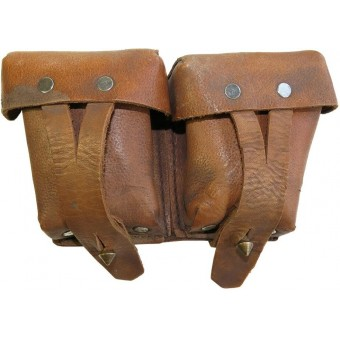 M 38 leather ammo pouch for M 1891 Mosin. Espenlaub militaria