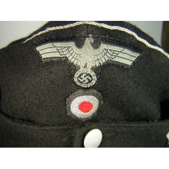 M 43 Panzertruppe officers hat in huge size - 61, personalized to Eckardt.. Espenlaub militaria
