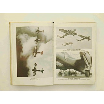 Propaganda book on the activities of the Air Force of the Third Reich -Luftwaffe. Espenlaub militaria