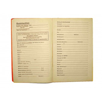 What do I do in an emergency published in order of H Himmler. Espenlaub militaria