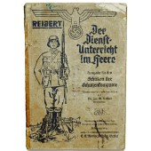 Service manual for the rifle units of the Wehrmacht.