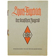 Sports diary of the Hitler youth