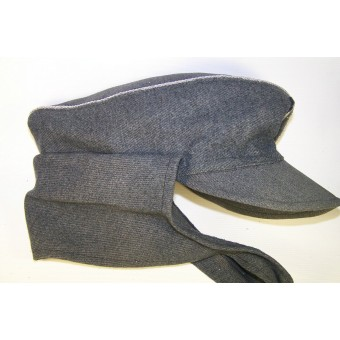 Officers gabardine wool cloth M 43 private purchased hat.. Espenlaub militaria