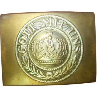 Prussia - brass belt and buckle with inscription Gott mit Uns. Espenlaub militaria