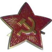 Soviet WW2 star field cockade- painted