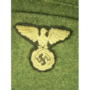 SS VT Feldgrau enlisted M34 overseas cap. Espenlaub militaria