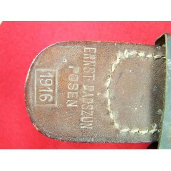 Steel made imperial Prussian buckle. Espenlaub militaria