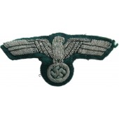 Wehrmacht Heer officers alu bullion breast eagle