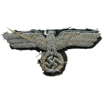 Wehrmacht Heer visorhat officers embroidered eagle. Espenlaub militaria