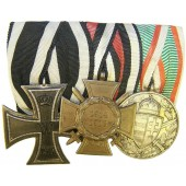 WW1 soldier's medal bar