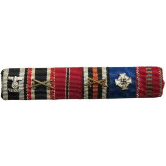 WW1, WW2 Feldspange/Ribbon bar. Espenlaub militaria