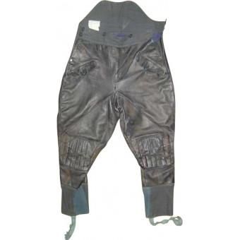 WW2 leather trousers for armored crew. Espenlaub militaria