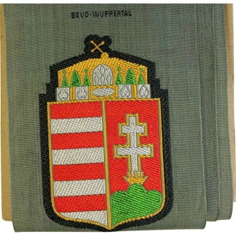 WW2 Mint Be-Vo Hungarian volunteers sleeve shield. Espenlaub militaria