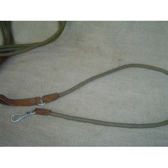 WW2 pistol or revolver canvas lanyard/sling. Espenlaub militaria