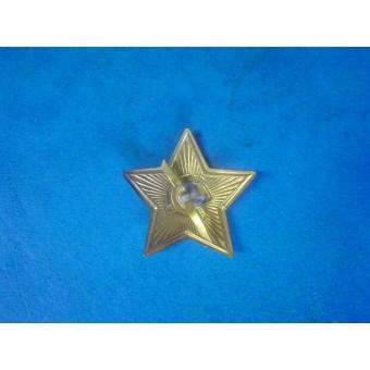 WW2 Soviet Russian Army brass medium size star cockade