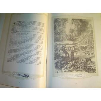 WW2 Soviet Russian illustrated book The pupils of Komsomol . Espenlaub militaria