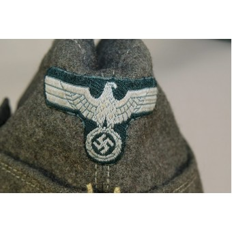 Alfred Vallet made M 38 side hat. Espenlaub militaria