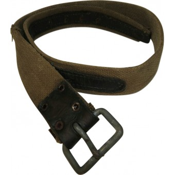 Canvas / leather enlisted man belt.. Espenlaub militaria