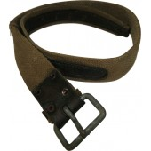 Canvas / leather enlisted man belt.