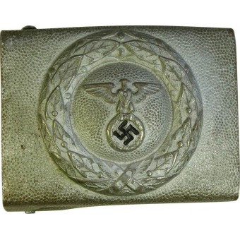 DLV nickel/white brass buckle. Espenlaub militaria