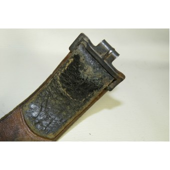 Luftwaffe steel buckle and belt. Espenlaub militaria