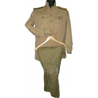 VOSO gymnasterka and trousers, connection service or armored train.. Espenlaub militaria