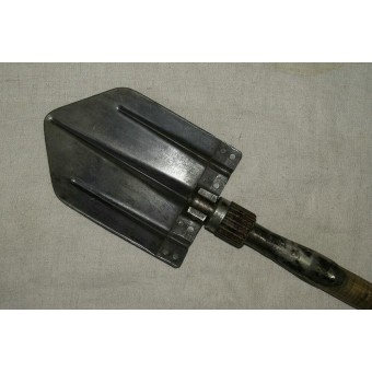 Wehrmacht or Waffen SS, entrenching tool, B&Co, Solingen 1940. Espenlaub militaria