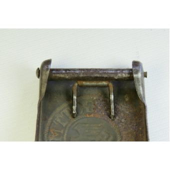Wehrmacht steel buckle, marked H.A.L 41. Espenlaub militaria