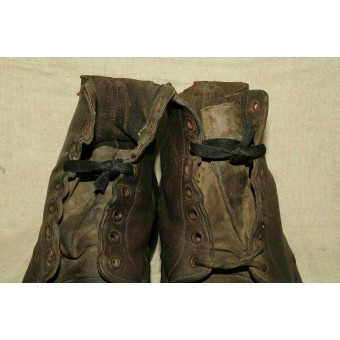 WW2 US Lend-lease Soviet short shoes. Espenlaub militaria