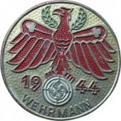 Gau Champion badge in Silver 1944- Wehrmann